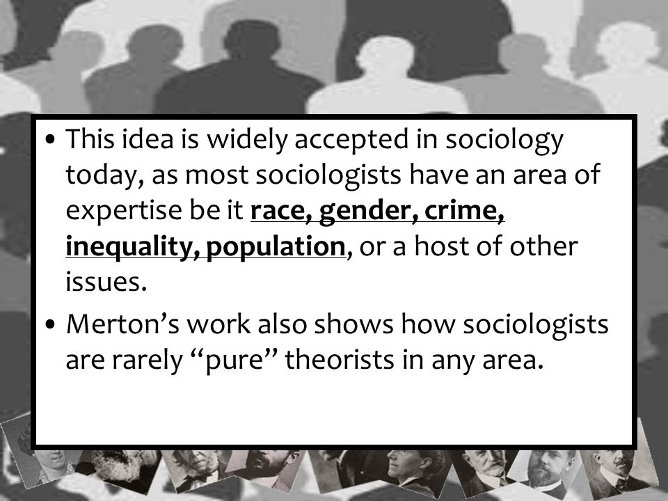 Merton's Functions One of Merton's greatest contributions to functionalism was the understanding that social realities have both intended and unintended functions.