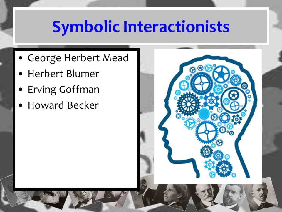 Symbolic Interactionism Symbolic Interactionism focuses on how communication influences the way people's interactions with each other create the social world in which we live.