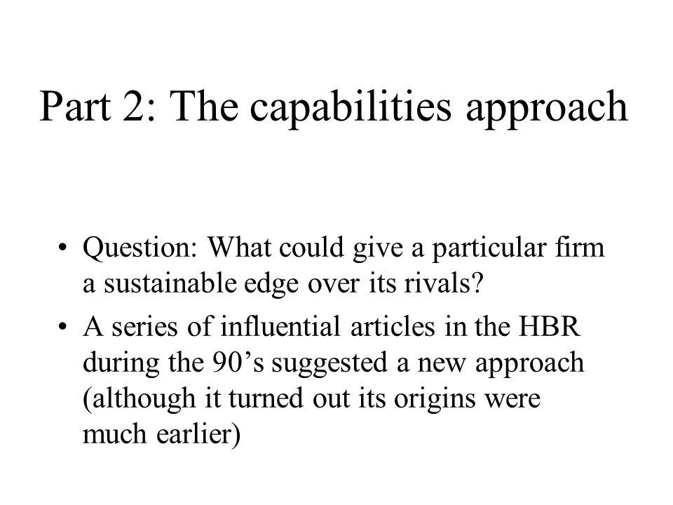Heterogeneity: Bundles of resources and capabilities are heterogeneous across firms.