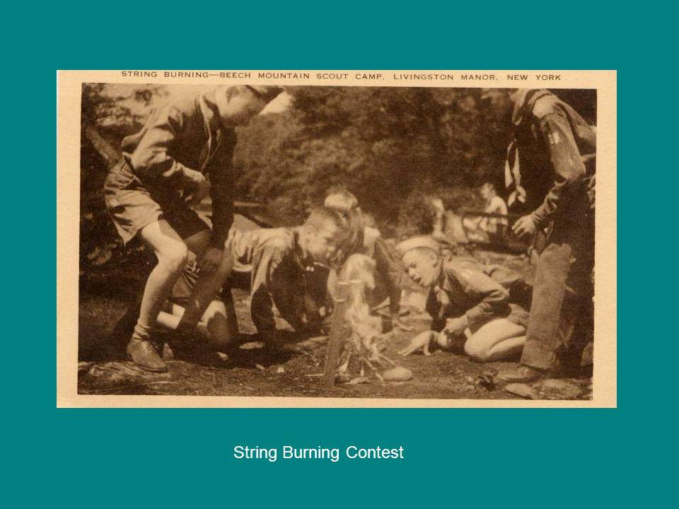 String Burning Contest