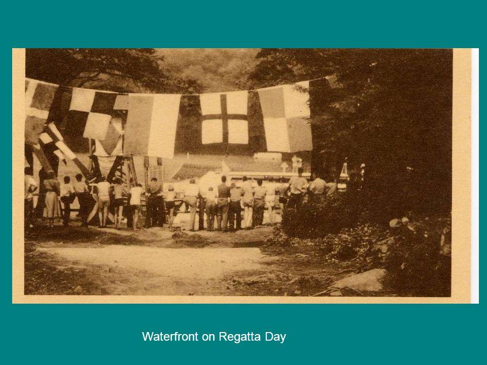 Waterfront on Regatta Day