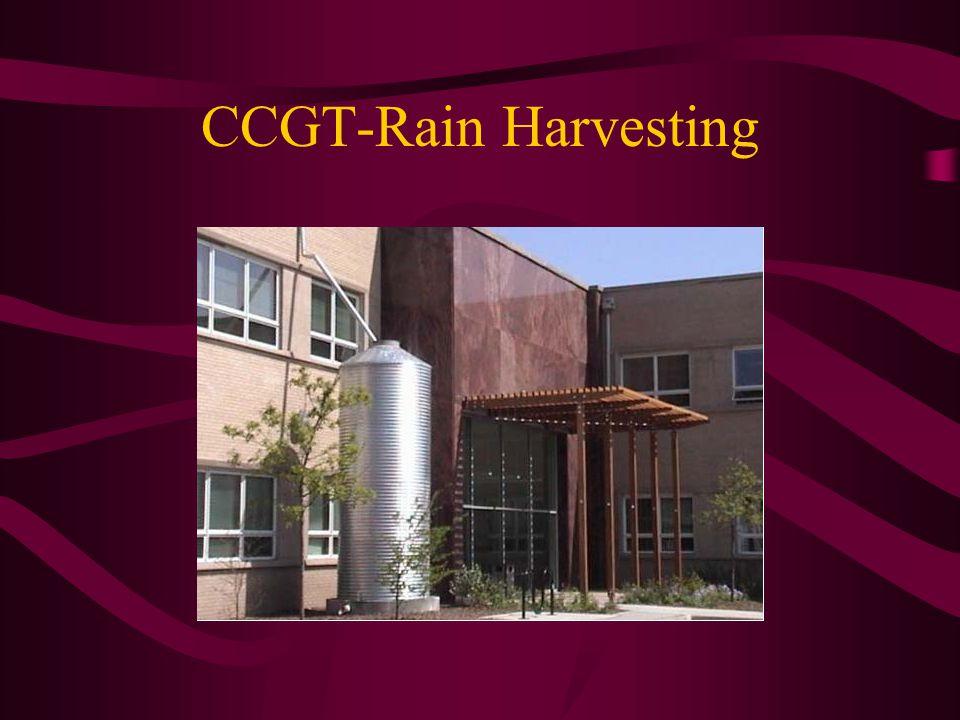 CCGT-Rain Harvesting