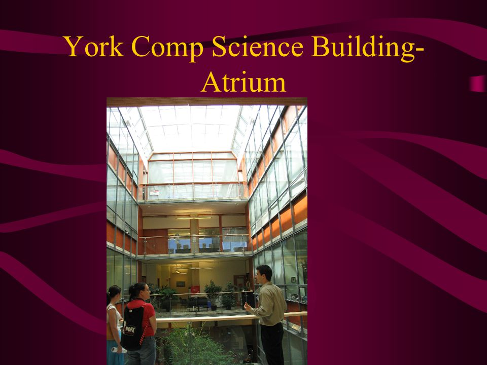 York Comp Science Building- Atrium