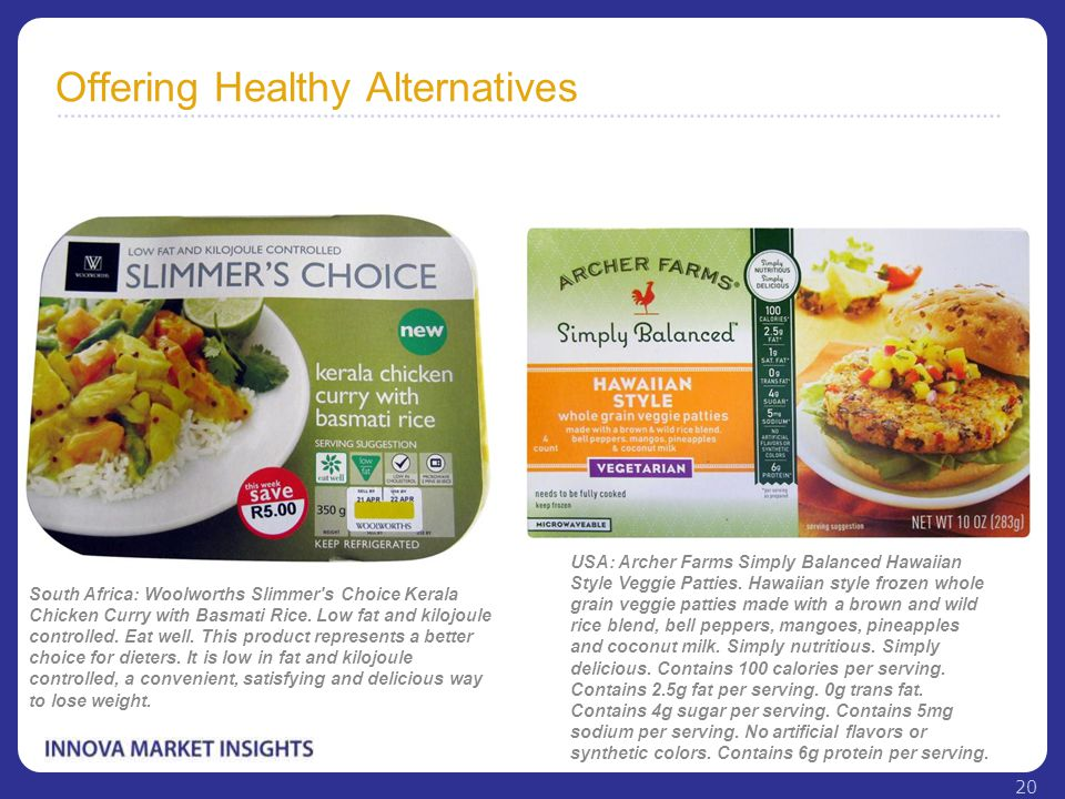 Offering Healthy Alternatives South Africa: Woolworths Slimmer's Choice Kerala Chicken Curry with Basmati Rice. Low fat and kilojoule controlled. Eat