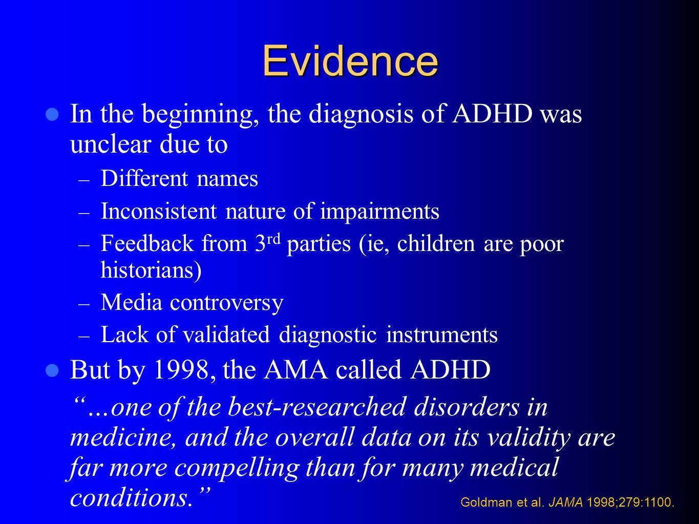 MRI in Adults with ADHD MGH-NMR Center & Harvard- MIT CITP Bush G, et al.