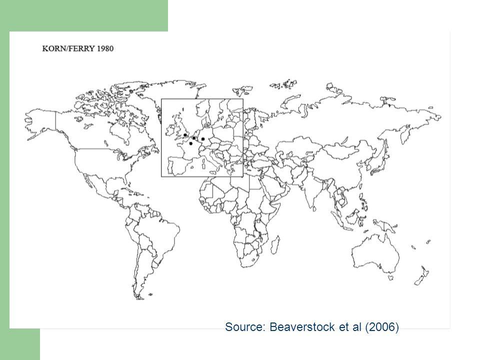 Source: Beaverstock et al (2006)