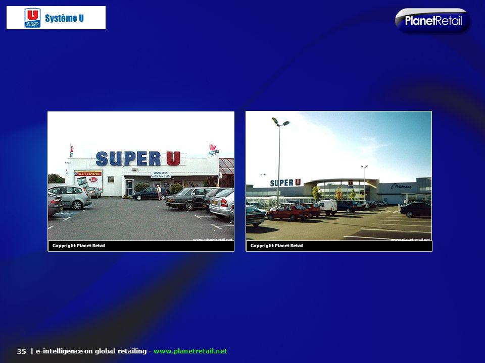 | e-intelligence on global retailing - www.planetretail.net 35 Copyright Planet Retail