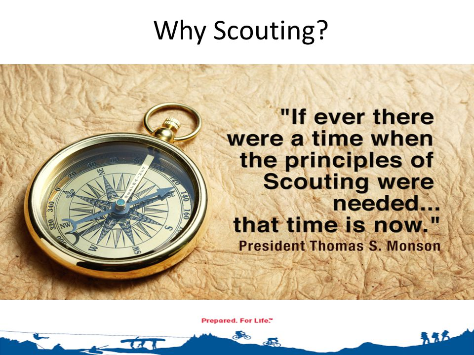Why Friends of Scouting. The Church supports the BSA's annual Friends of Scouting drive.
