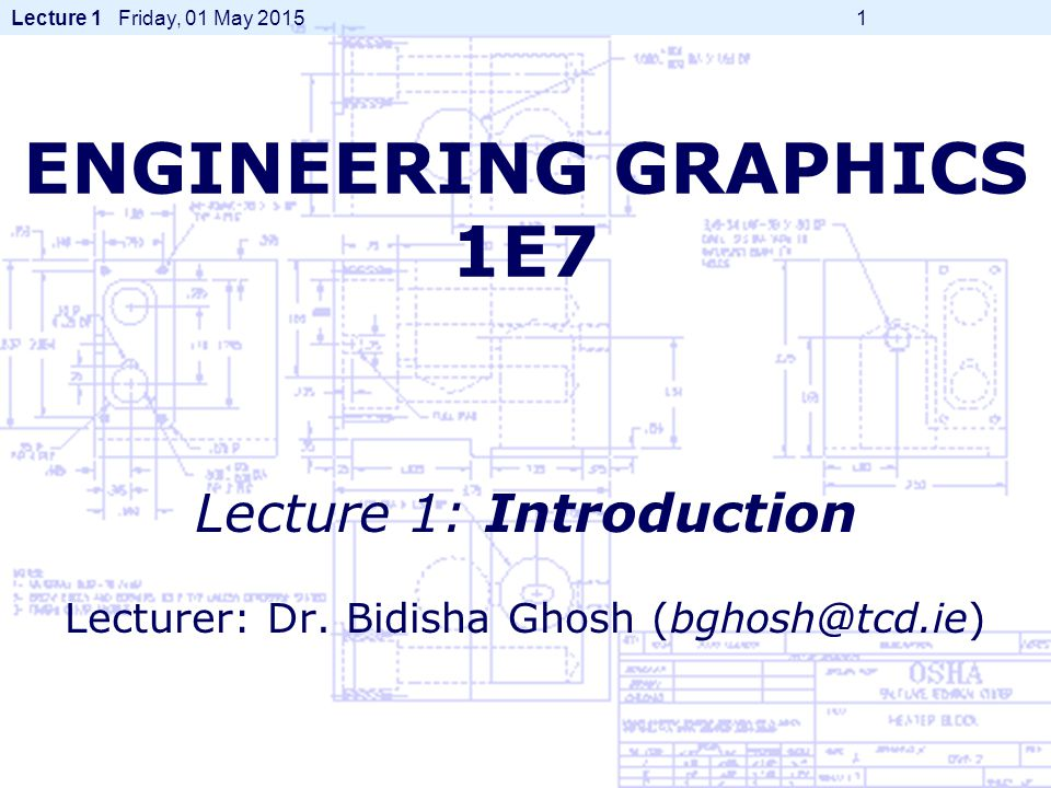 Course Structure Hand Drawing (part 1) -Dr.B. Ghosh Hand Drawing (part 2) -Dr.