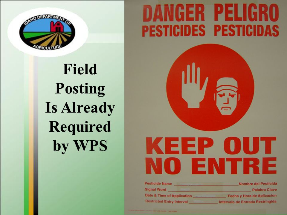 Field Posting Is Already Required by WPS