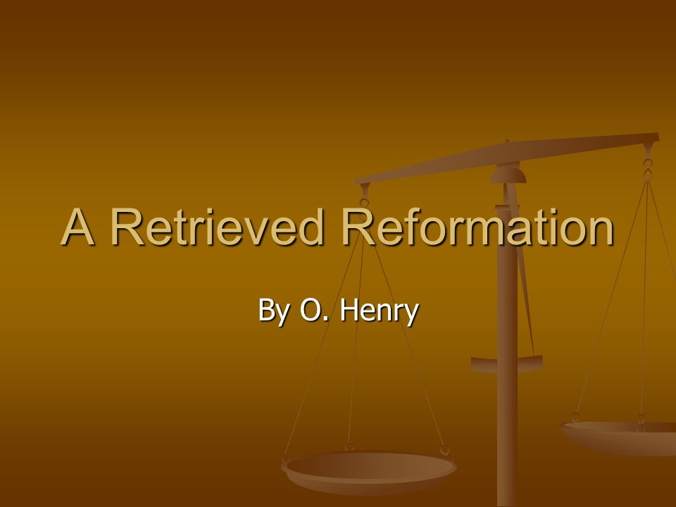 A Retrieved Reformation: Dialectic Journal Textual Quotes Response 1) Tools – …drills, punches, braces and bits, jimmies, clamps, augers… (pg.