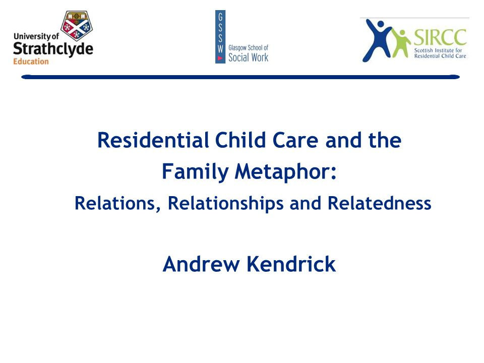 … it is essential that we provide the necessary warmth, affection and comfort for children s healthy development if we are not further to damage emotionally children and young people who have usually had a raw deal from life (Children's Safeguards Review, 1997)