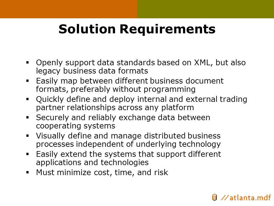 BizTalk Solves Challenges In EnterpriseApplicationIntegration(EAI) BusinessProcessAutomation EAIEAI EAI BusinessToBusiness(B2B) BizTalk Server 2000