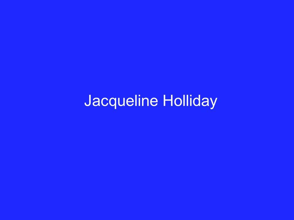 Jacqueline Holliday