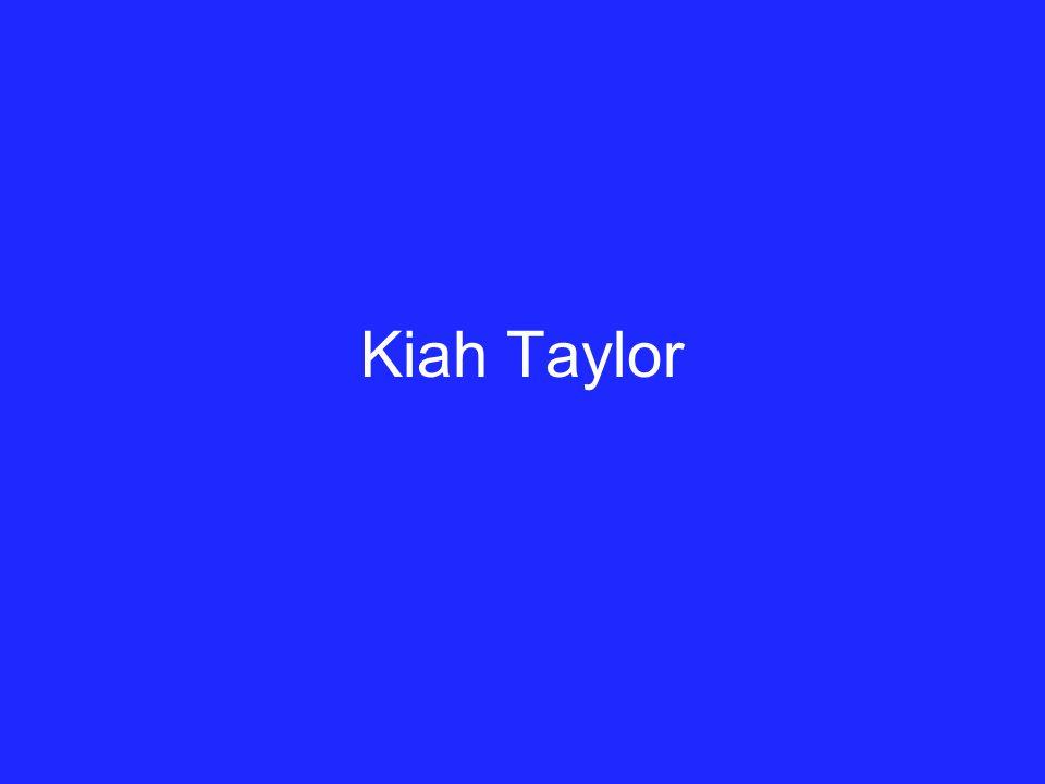 Kiah Taylor