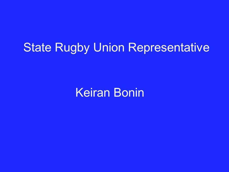 State Rugby Union Representative Keiran Bonin