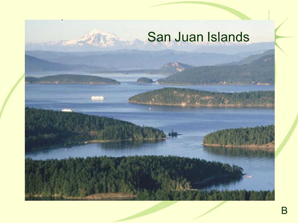 San Juan Islands B