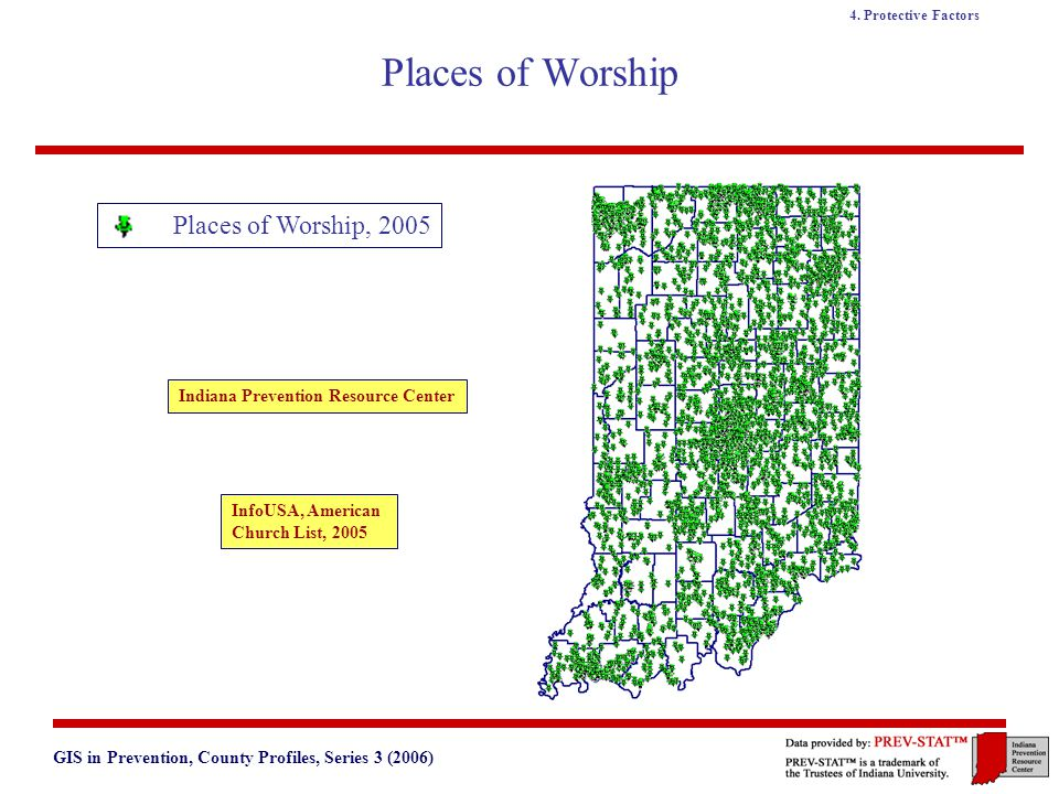 GIS in Prevention, County Profiles, Series 3 (2006) 4.