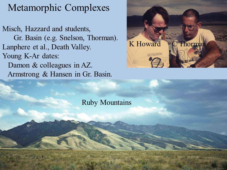 Whipple Mountains Greg Davis & Gordon Lister