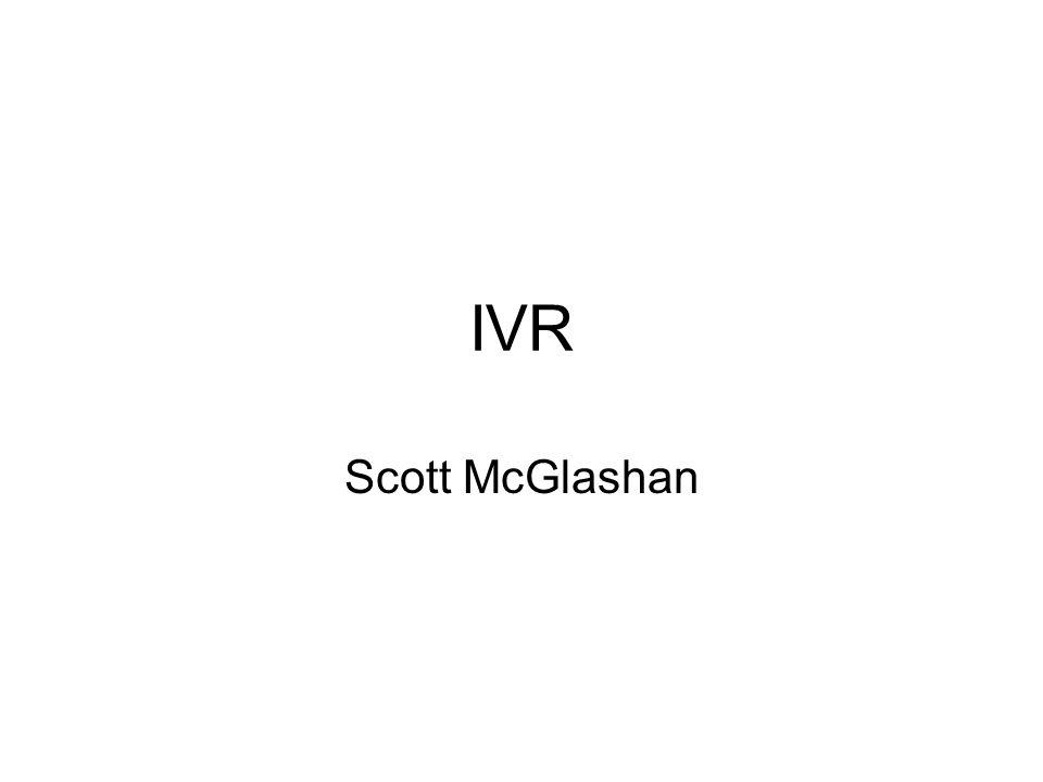 IVR Scott McGlashan