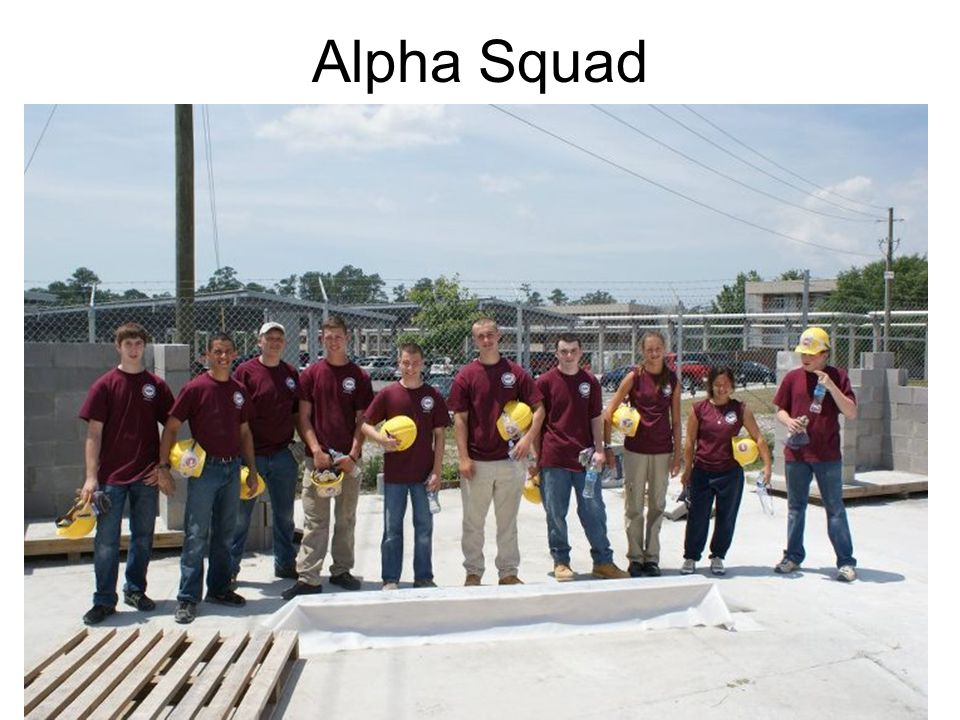 Day 1-Major Challenges Design and Construct a Concrete Beam: –8 feet long –1/10 th cubic yard of concrete Our design: –6 width x 8 height x 96 length (as required)