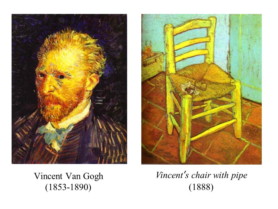 Vincent Van Gogh (1853-1890) Vincent's chair with pipe (1888)