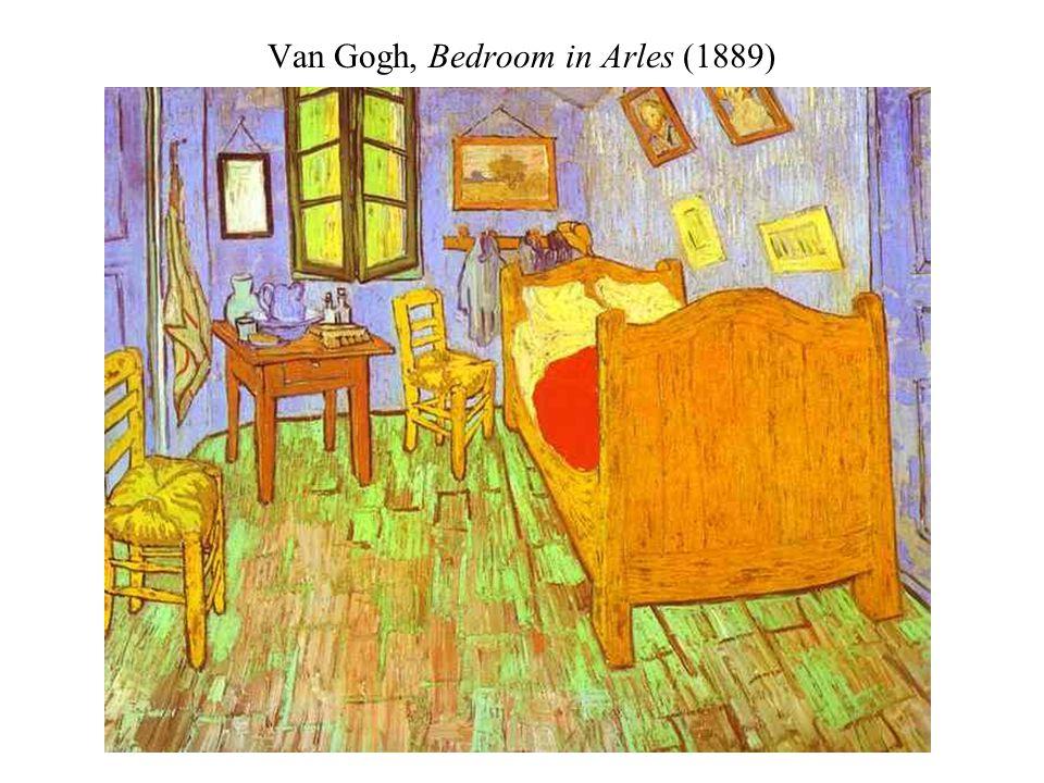 Van Gogh, Bedroom in Arles (1889)