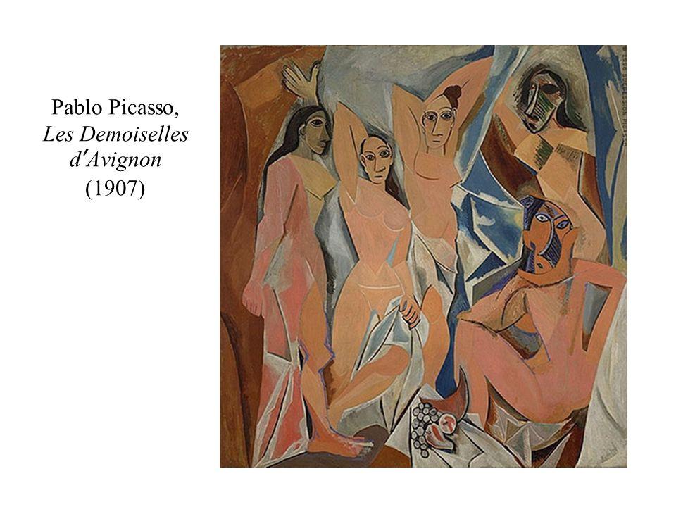 Pablo Picasso, Les Demoiselles d'Avignon (1907)
