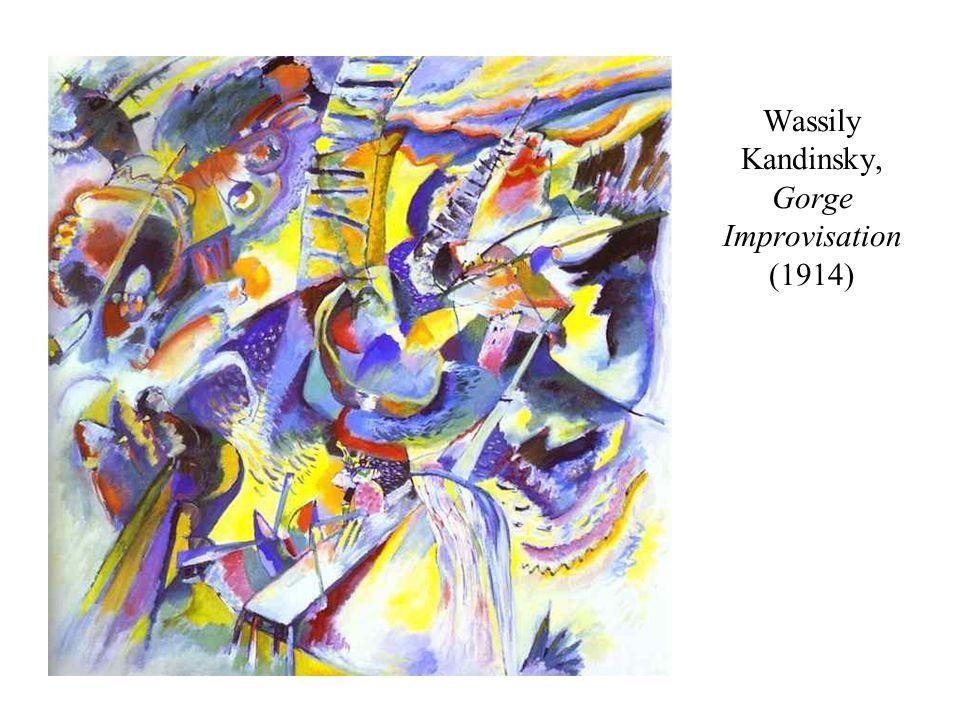 Wassily Kandinsky, Gorge Improvisation (1914)
