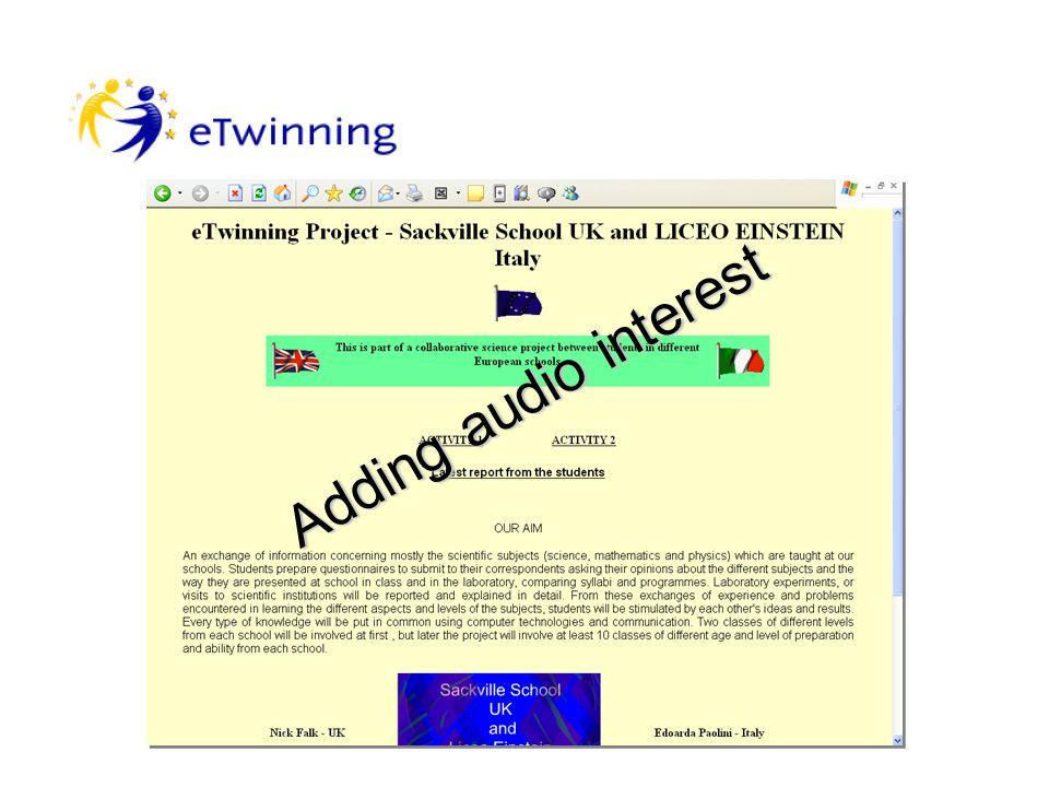 E Twinning with Italy Partnership