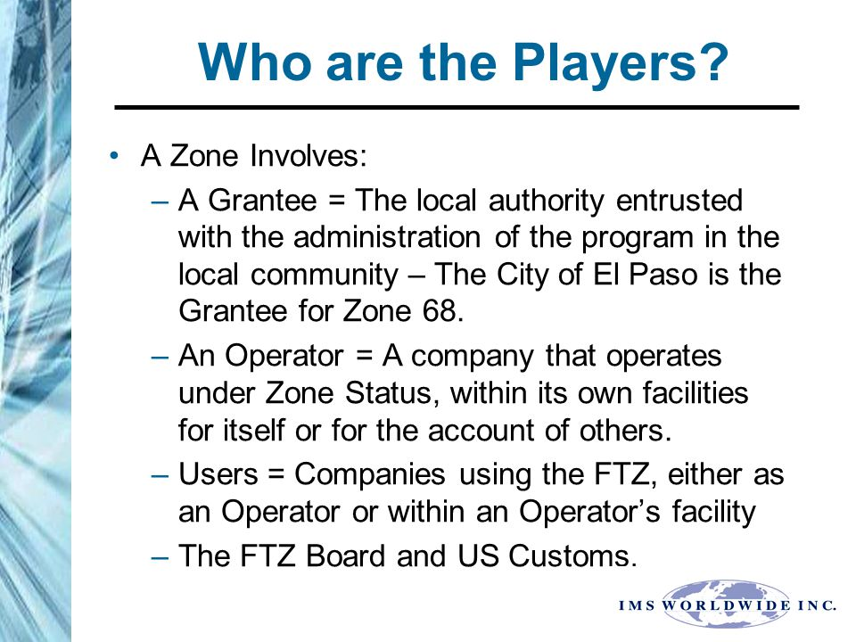 FTZ Scenario # 2 - FTZ # 68 Assembly of Electronics in the US FTZ.
