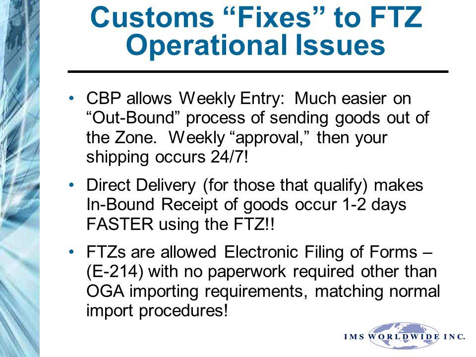 FTZ # 68 CASE STUDIES