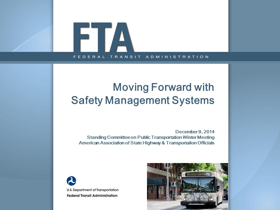 12 Provides a foundation to support effective safety oversight activities Improves data collection and information exchange Helps us to understand where our agency-specific and industry wide risks exist Assists us in actively evaluating data to guide safety activities Allows us to prioritize resource allocation based on levels of safety risk SMS provides a framework for a more proactive and effective approach to assuring safety and meeting industry challenges FTA's SMS Framework