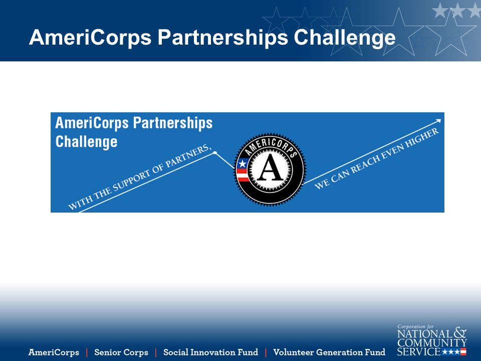 AmeriCorps Partnerships Challenge