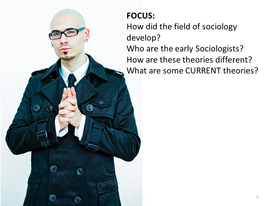 FOCUS: How did the field of sociology develop. Who are the early Sociologists.