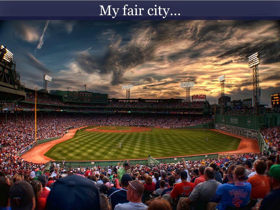 #HASummit14 My fair city…