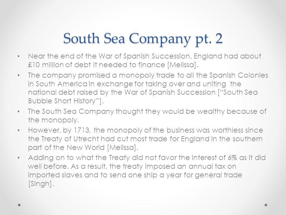 South Sea Company pt.