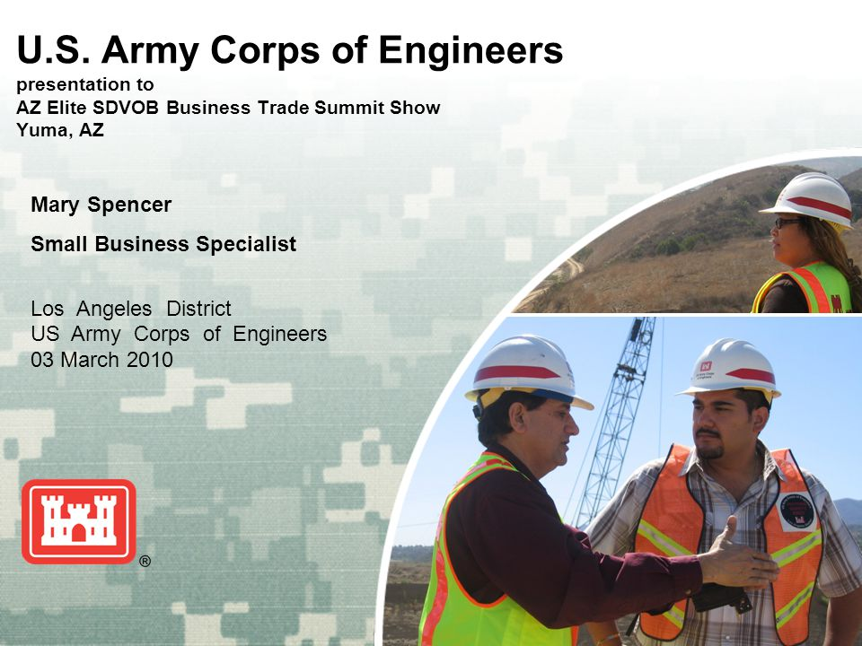 US Army Corps of Engineers BUILDING STRONG ® U.S.