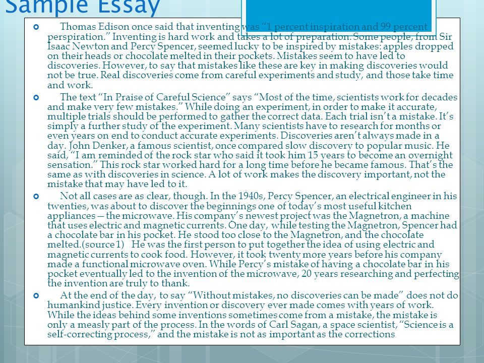 thomas edison essay taking a stand essay