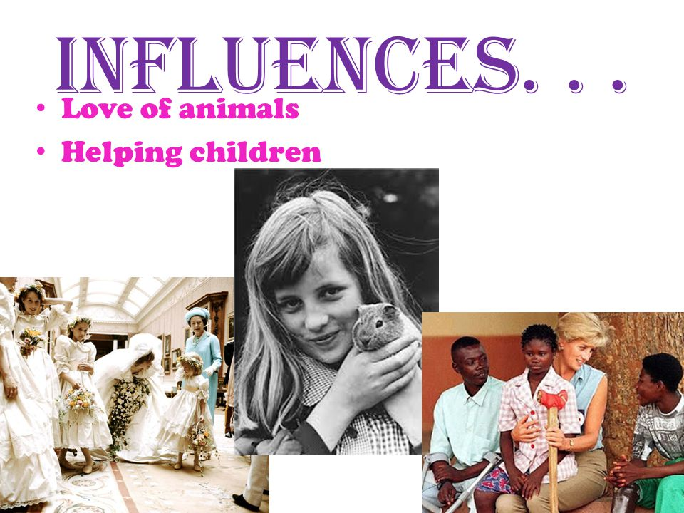 Influenced...Fairy Tale Last gift Travel Kids and animals.
