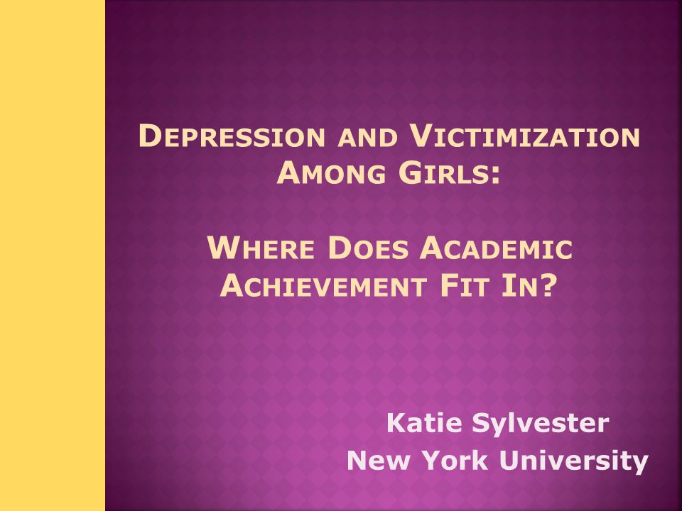 Katie Sylvester New York University