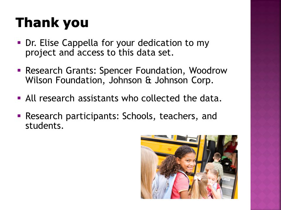  Dr.Elise Cappella for your dedication to my project and access to this data set.