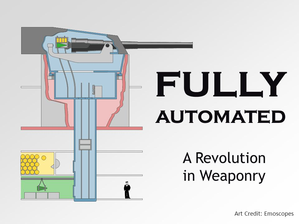 Art Credit: Emoscopes FULLY AUTOMATED A Revolution in Weaponry