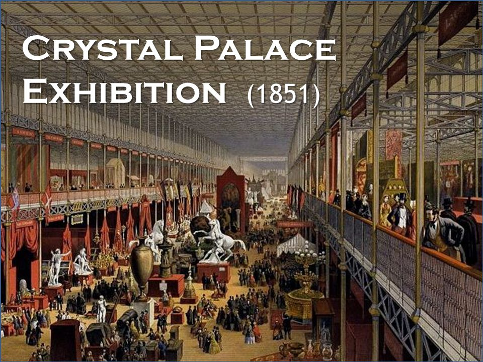 Crystal Palace Exhibition (1851)