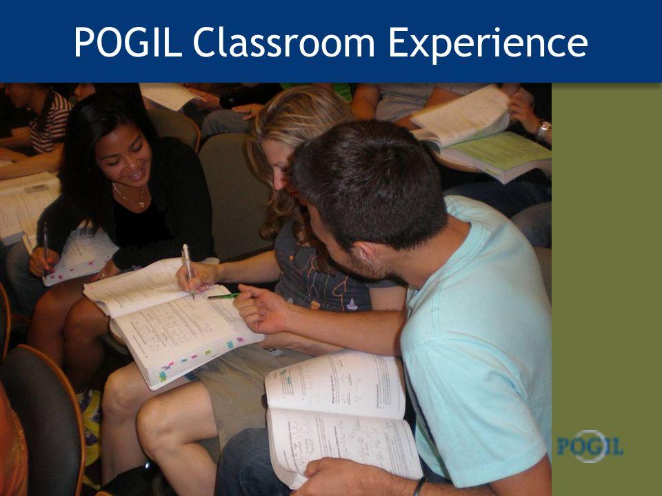POGIL Classroom Experience