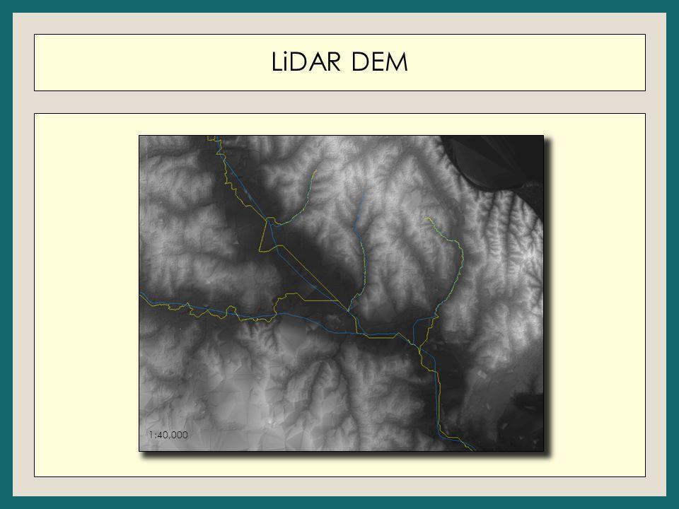 LiDAR DEM 1:40,000