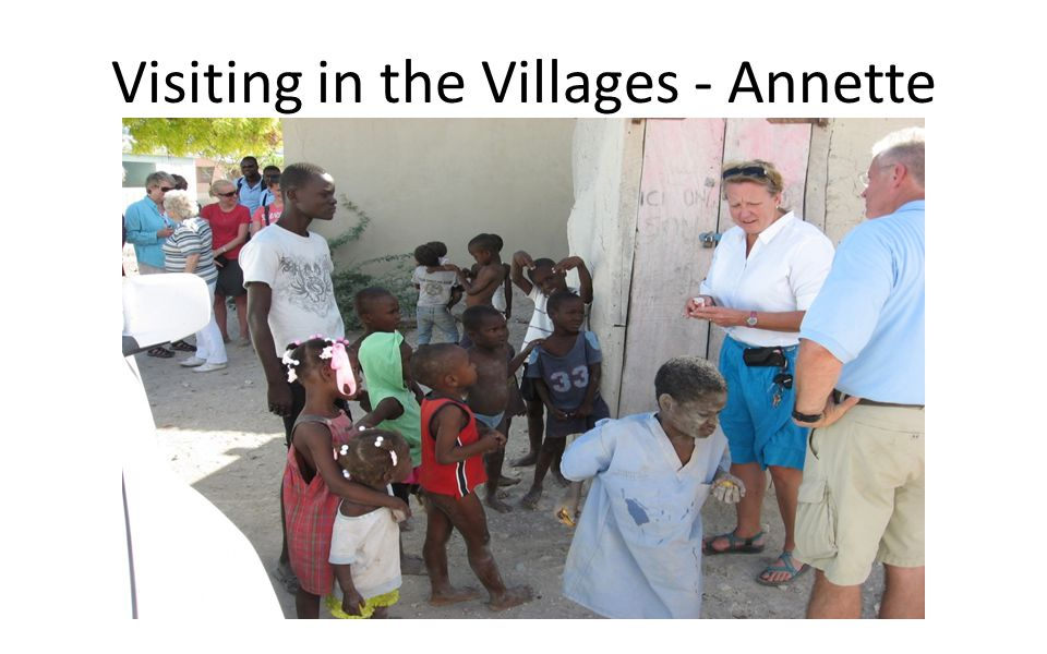 Visiting in the Villages - Annette