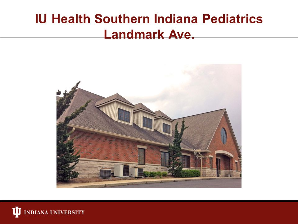 IU Health Southern Indiana Pediatrics Landmark Ave.