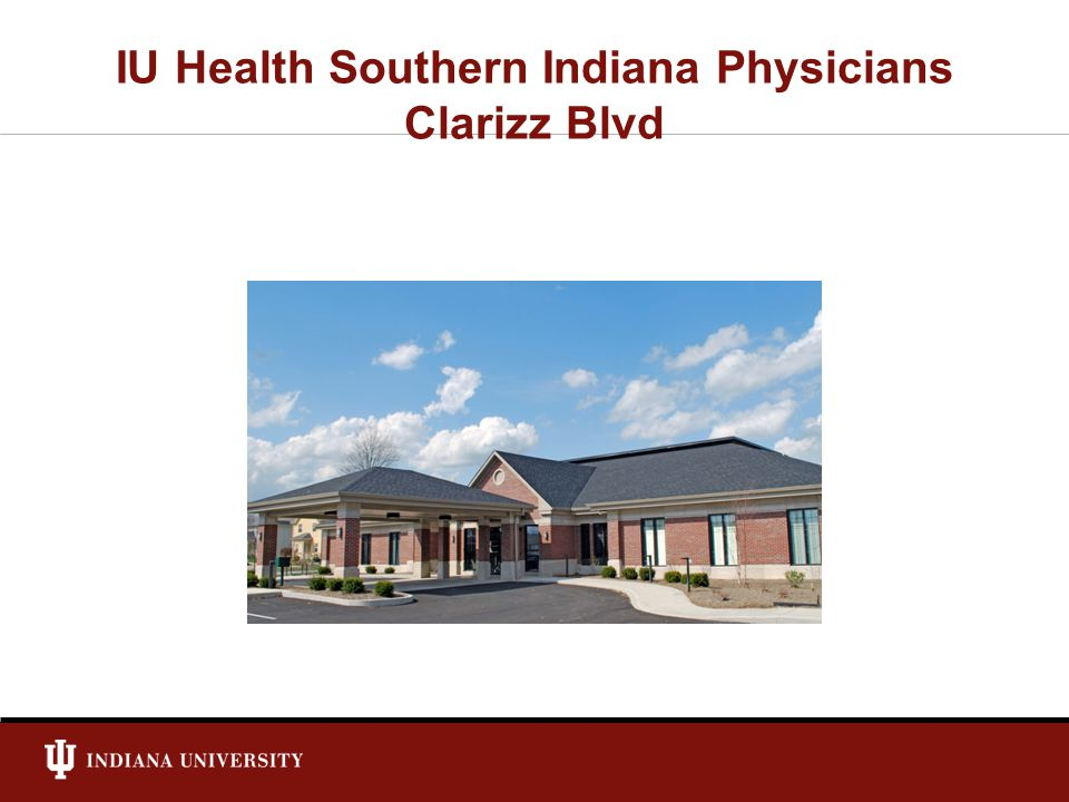 IU Health Southern Indiana Physicians Clarizz Blvd