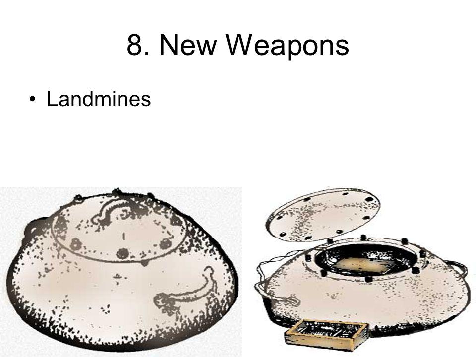 8. New Weapons Landmines